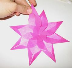 Window Star DIY tutorial - great for wintery days and so beautiful!
