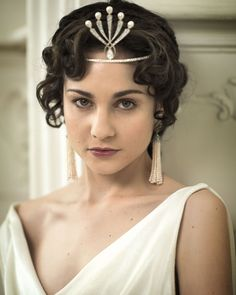 """""""War and Peace"""" (Helene Kuragin played by Tuppence Middleton)"""