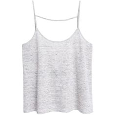 Mango Linen Strap Top, Pastel Grey ($23) ❤ liked on Polyvore featuring tops, shirts, tank tops, tanks, gray shirt, sleeve less shirts, sleeveless tank tops, gray tank and gray tank top