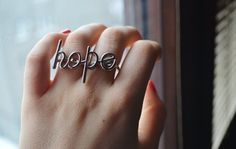 this ring is a great reminder!