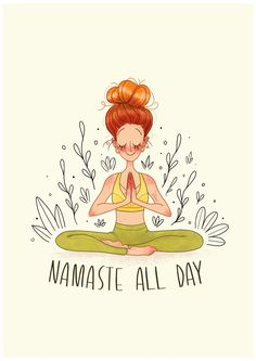 Yoga Meditation, Zen Yoga, Namaste Yoga, Yoga Art, Namaste Symbol, Namaste Tattoo, Yoga Inspiration, Frases Namaste, Frases Zen