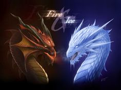 FIRE and ICE by Deligaris on DeviantArt