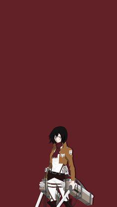 Anime: Attack on Titan Character: Mikasa Ackerman