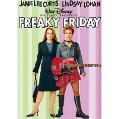 Freaky Friday. I had to LOL at this movie....great, funny , family movie.