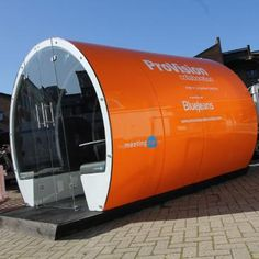 The Meeting Pod Company offers a range of pods, including escape pods, modular pods, seating pods and multi-story Hive Pods. Temporary Structures, Commercial Furniture, Packing Light, Exterior Colors, Flexibility, Branding, Indoor, Outdoors, Colours