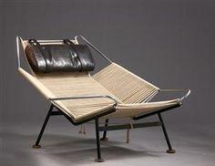 Lauritz.com - Furniture - Hans J. Wegner, 1914-2007. Flag Halyard chair, model PP225 - DK, Vejle, Dandyvej
