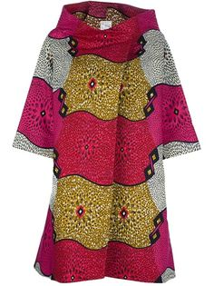 STELLA JEAN - oversized printed coat ~Latest African Fashion, African Prints, African fashion styles, African clothing, Nigerian style, Ghanaian fashion, African women dresses, African Bags, African shoes, Nigerian fashion, Ankara, Kitenge, Aso okè, Kenté, brocade. ~DKK