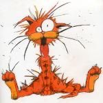 Bill The Cat, Animal Memes, Cat Art, Tigger, Rooster, Disney Characters, Fictional Characters, Kitty, Cartoon