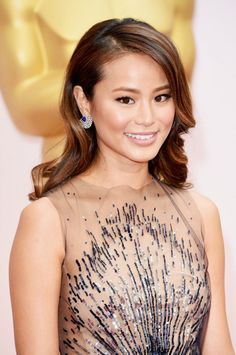 Jamie Chung attend the 87th Annual Academy Awards - http://celebs-life.com/?p=87283