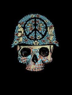 Peace Skull by Methane Studios - Methane Studios - Gallery