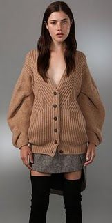 Alexander Wang coat/cardigan. I have seen this sweater in person, it truly is stunning.