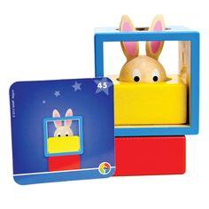 Bunny Boo logikai játék- hová bújt a nyuszi?   Pandatanoda.hu Játék webáruház