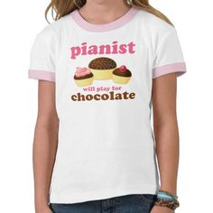 Cute Pink Piano Kids T-shirt - even if it's pink I love it!!!