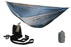 Single Person Ultralight Hammock 400lbs Weight Capacity ** A special product just for you. See it now! : Camping Furniture