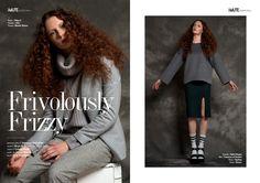 Frivolously Frizzy webitorial for iMute Magazine