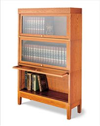Legacy Collection Contemporary Barrister Bookcases
