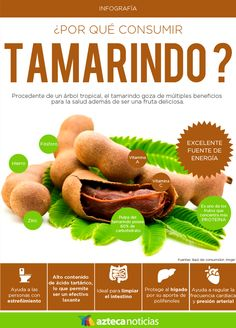 ¿Por qué consumir tamarindo? #infografia