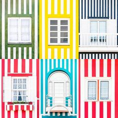 Windows of the World - Costa Nova Portugal | Missing Summer? | Dont miss out on the book link in my bio.