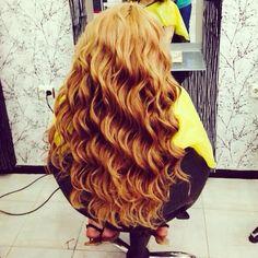 blonde • curls