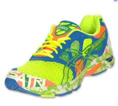Color makes you happy. Get colorful shoes to keep you motivated and happy while running.