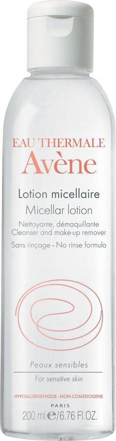 Avene Micellar Lotion Cleansing and Make Up Remover, 6.67 Fluid Ounce : Eye Makeup Removers : Beauty
