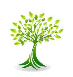 arbol de la vida: Ecología logo vector