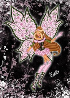 Bloom Lonelix by LaminaNati on DeviantArt Club Style, Mode Style, Winx Magic, Princess Charm School, Les Winx, Flora Winx, Bloom Winx Club, Fairy Clothes, Boy Character