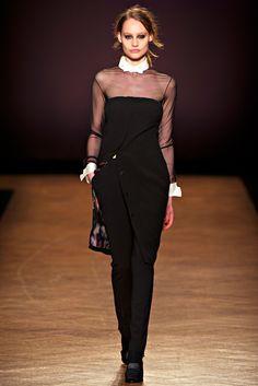 Paul Smith RTW A/W 2012/13.  Model - Queeny Van der Zande.