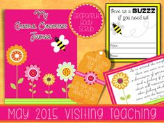 May 2015 Visiting Teaching Printable and Handouts - such an adorable set!