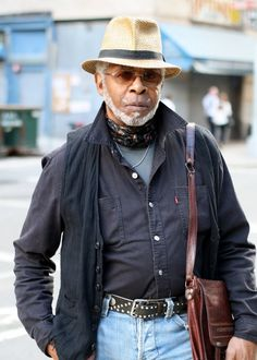 Street fashion for seniors - ADVANCED Bebop Style