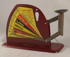 Jiffy Way Patent 2205917 Egg Grade Scale Vintage Retro Country Kitchen Chicken #NaivePrimitive