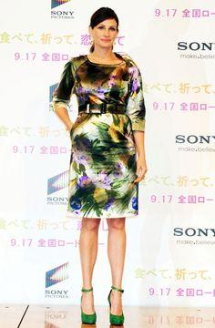Julia Roberts visits Japan