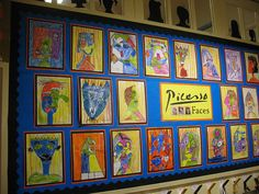 picasso classroom display - Google Search