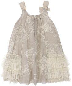 Isobella & Chloe Carole Lace Ruffle Dress