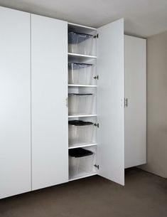 Palo Alto White Tall Garage Cabinet ~Need These In My Garage To Organize  All My Home Decor Products.
