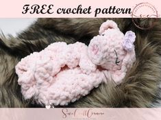 Little Mary lamb lovey FREE crochet pattern – Swecraftcorner Crochet Lovey, Crochet Blanket Patterns, Crochet Gifts, Amigurumi Patterns, Free Crochet, Kids Crochet, Crochet Dolls, Sewing Patterns Free, Free Pattern