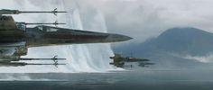 Los bocetos para The Force Awakens revelan decenas de buenas ideas que no llegaron al film