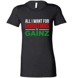 Are you striving for Greatness? This All I Want for Ch... will keep you energized and inspired! Get yours now at http://impowerapparel.com/products/all-i-want-for-christmas-ladies-t-shirt?utm_campaign=social_autopilot&utm_source=pin&utm_medium=pin