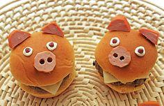 Uma receita divertida para o dia das crianças: mini-hamburgues