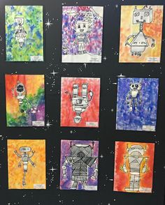 5th grade 3D shapes forms art lesson project idea                                                                                                                                                                                 More