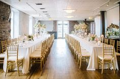 Charleston wedding reception at the HISTORIC RICE MILL » Design by Pure Luxe Bride » Aaron and Jillian Photography