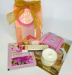 Geschenke für Frauen - Mini Wellness Geburtstagsgeschenk - ein Designerstück von Stempelitis bei DaWanda