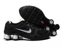 brand new 50613 c31f3 Nike Store. Nike Shox Turbo 12 Men s Running Shoes - Black Silver -  Wholesale
