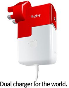 PlugBug World by Twelve South. Charge a MacBook/Air and another iDevice at the same time.