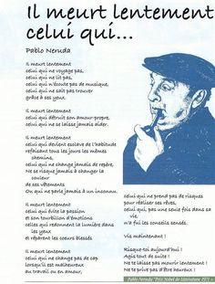 Motivation Quotes : Et ainsi rapidement accompli. - About Quotes : Thoughts for the Day & Inspirational Words of Wisdom Positive Attitude, Positive Mind, Positive Quotes, Vie Positive, Love Is Comic, Pablo Neruda, Life Quotes Love, Smile Quotes, French Quotes