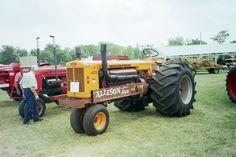 Minneapolis Moline UB tractor with  Allison V-12 aricraft engine
