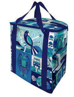 Greg Straight chiller bag for Countdown. Chill Bag, Lunch Box, Illustration, Bags, Design, Handbags, Bento Box, Illustrations