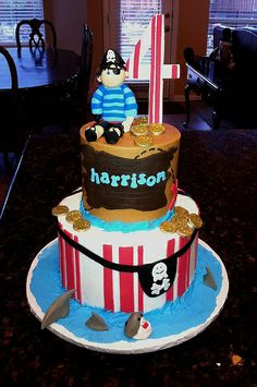 Pirate Booty Cake   Flickr - Photo Sharing!