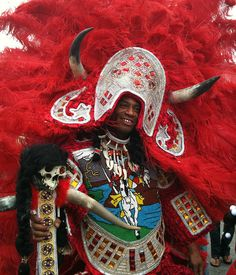 Zulu and Mardi Gras Indians 2011 in New Orleans Parade