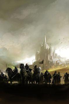 The awesome work of Kekai Kotaki - Lead Concept Artist on Guild Wars 2 #2d #illustrations